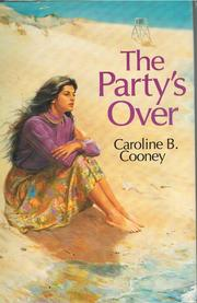 Cover of: The party's over