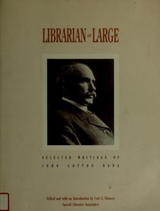Cover of: Librarian at large