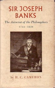Cover of: Sir Joseph Banks