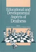 Cover of: Educational and developmental aspects of deafness