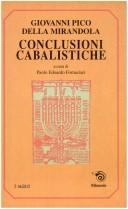 Cover of: Conclusioni cabalistiche