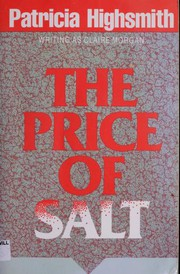 Cover of: The Price of Salt