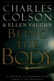 Cover of: Being the body