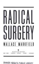 Cover of: Radical surgery