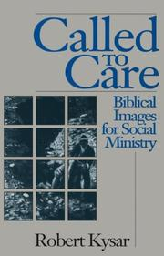 Cover of: Called to care