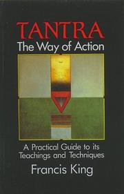 Cover of: Tantra, the way of action