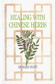 Cover of: Healing with Chinese herbs