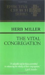 Cover of: The vital congregation