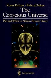 Cover of: The conscious universe
