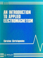 Cover of: An introduction to applied electromagnetism