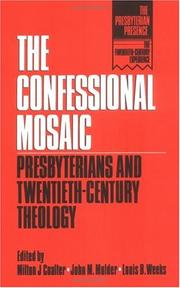 Cover of: The Confessional mosaic