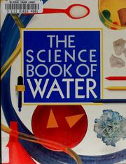 Cover of: The science book of water