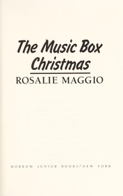 Cover of: The music box Christmas