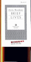 Cover of: Brief lives