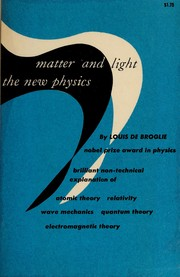 Cover of: Matter and light