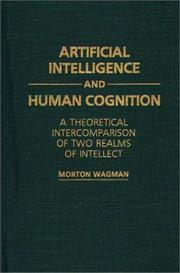 Cover of: Artificial intelligence and human cognition