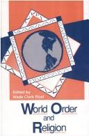Cover of: World order and religion