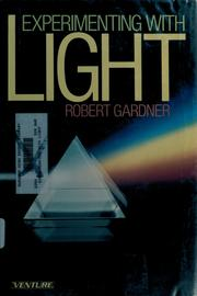 Cover of: Experimenting with light