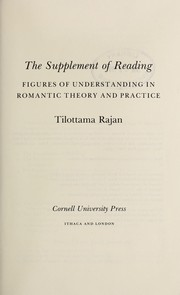 Cover of: The supplement of reading