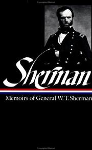 Cover of: Memoirs of General W.T. Sherman