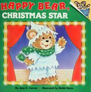 Cover of: Happy Bear, Christmas star