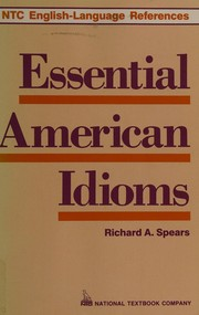 Cover of: Essential American idioms