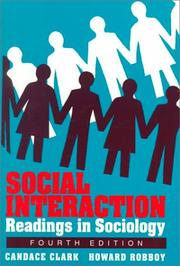 Cover of: Social interaction