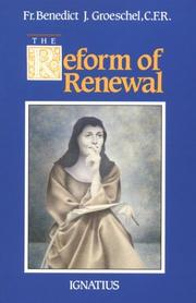 Cover of: The reform of renewal