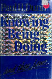 Cover of: Knowing, being, doing, and then some