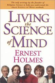 Cover of: Living the science of mind
