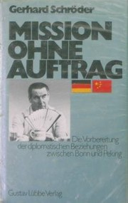 Cover of: Mission ohne Auftrag
