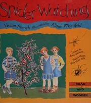 Cover of: Spider watching: Read and Wonder