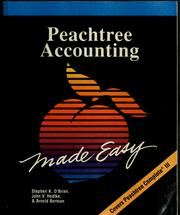 Cover of: Peachtree accounting made easy