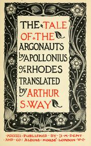 Cover of: The tale of the Argonauts