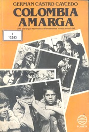 Cover of: Colombia amarga