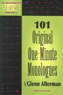 Cover of: 101 original one-minute monologues