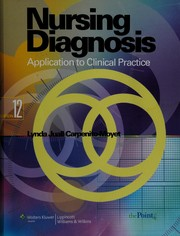 Cover of: Nursing diagnosis