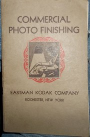 Cover of: Commercial photo finishing