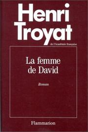 Cover of: La femme de David