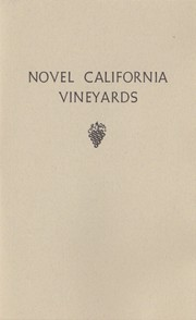 Cover of: Novel California vineyards