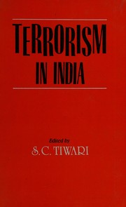 Cover of: Terrorism in India