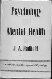Cover of: Psychology and mental health