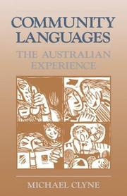 Cover of: Community languages