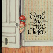 Cover of: Opal in the closet