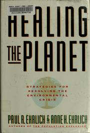 Cover of: Healing the planet