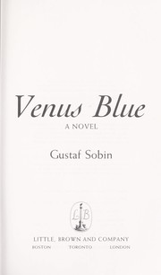 Cover of: Venus Blue: a novel