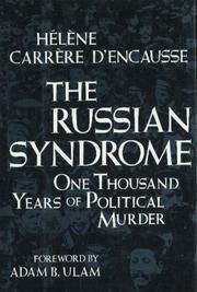 Cover of: The Russian syndrome