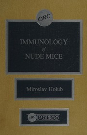 Cover of: Immunology of nude mice
