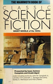 Cover of: The Mammoth book of Classic Science Fiction