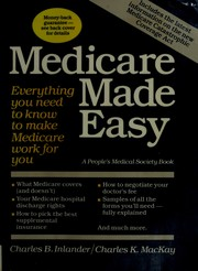 Cover of: Medicare made easy